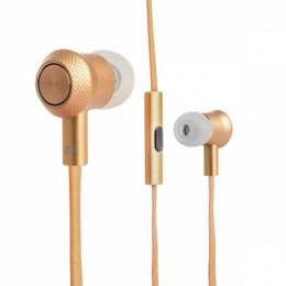 Наушники Hoco M7 Universal Metal Earphone Tarnish золотые