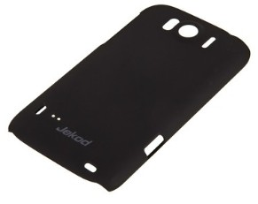 Накладка Jekod пластиковая для HTC Sensation XL черная