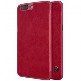 Чехол Nillkin Qin Leather Case для OnePlus 5 Red (красный)