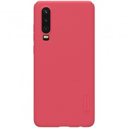 Накладка Nillkin Frosted Shield пластиковая для Huawei P30 Red (красная)