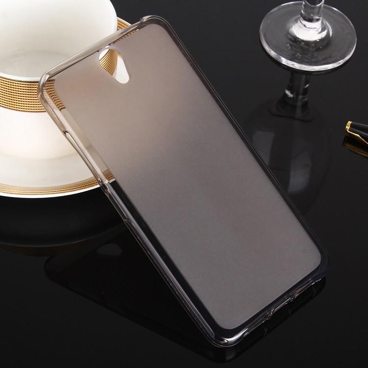 Накладка KissWill силиконовая для Lenovo Vibe S1 Lite прозрачно-черная