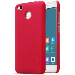 Накладка Nillkin Frosted Shield пластиковая для Xiaomi Redmi 4X Red (красная)