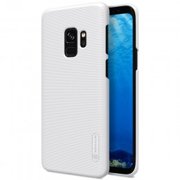 Накладка Nillkin Frosted Shield пластиковая для Samsung Galaxy S9 SM-G960 White (белая)