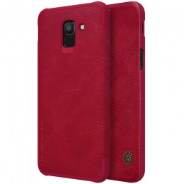 Чехол Nillkin Qin Leather Case для Samsung Galaxy J6 (2018) J600 Red (красный)