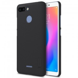 Накладка Nillkin Frosted Shield пластиковая для Xiaomi Redmi 6 Black (черная)