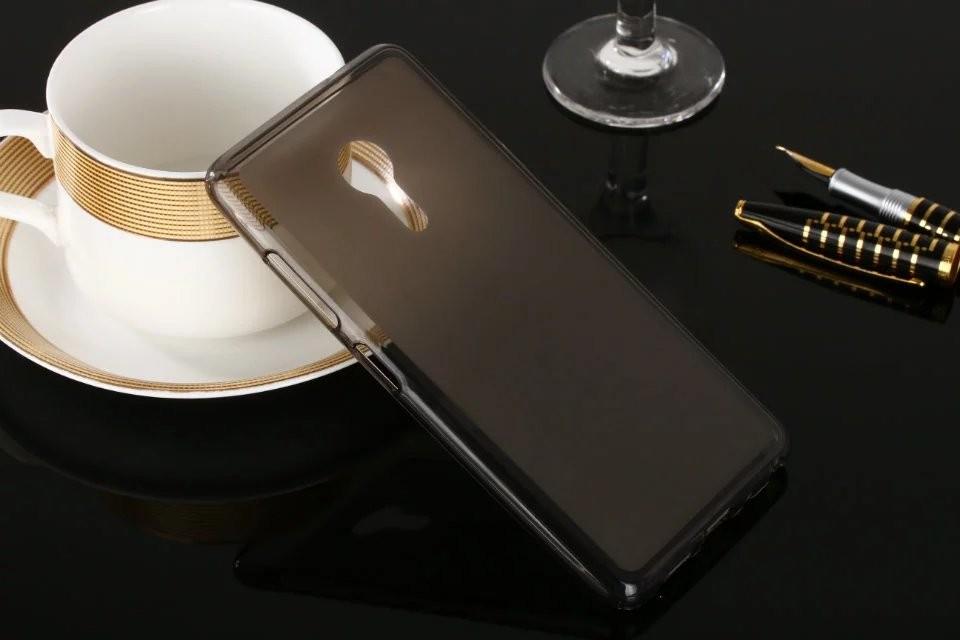Накладка KissWill силиконовая для Lenovo ZUK Z2 Pro прозрачно-черная