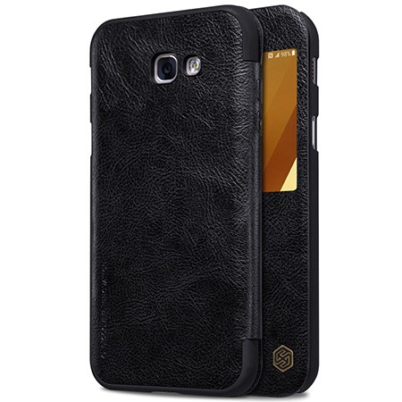 Чехол Nillkin Qin Leather Case для Samsung Galaxy A5 (2017) A520 Black (черный)