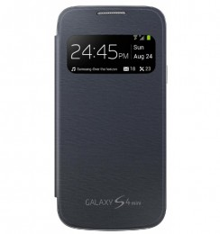 Чехол Flip Cover S-View для Samsung Galaxy S4 mini i9190/ i9192/ i9195 черный