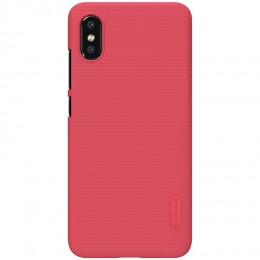 Накладка Nillkin Frosted Shield пластиковая для Xiaomi Mi8 Pro / Mi8 Explorer Red (красная)
