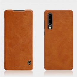 Чехол Nillkin Qin Leather Case для Huawei P30 Brown (коричневый)