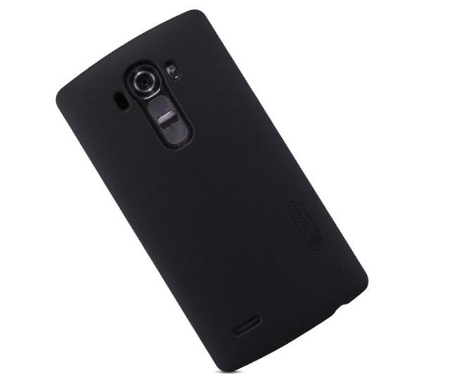 Накладка Nillkin Frosted Shield пластиковая для LG G4 черная