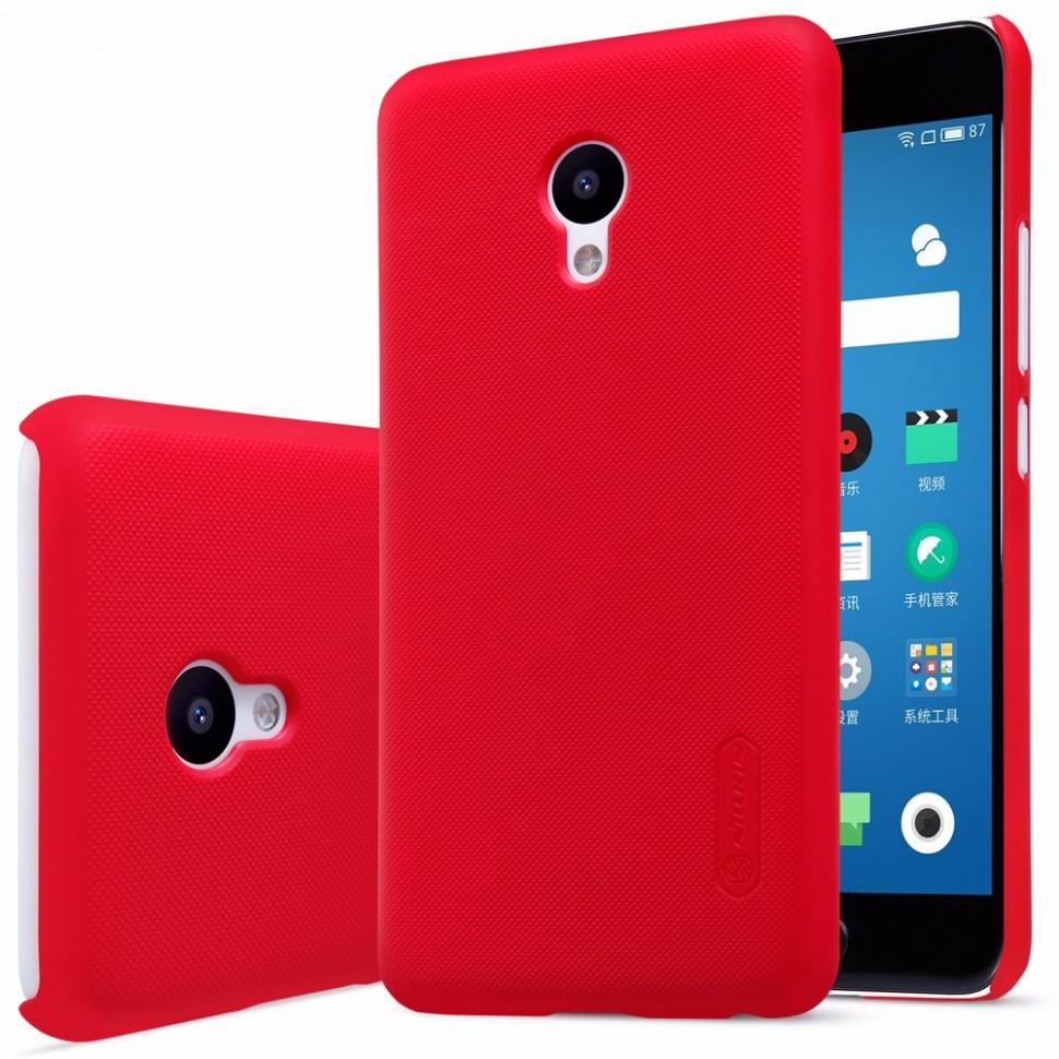 Накладка Nillkin Frosted Shield пластиковая для Meizu M5 (M5 mini) Red (красная)