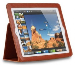 Чехол Yoobao Executive Leather Case для iPad 4/ iPad 3/ iPad 2 Brown
