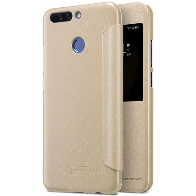 Чехол Nillkin Sparkle Series для Huawei Honor V9 Gold (золотой)