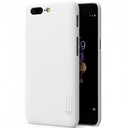 Накладка Nillkin Frosted Shield пластиковая для OnePlus 5 White (белая)