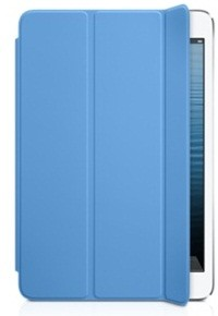 Чехол Apple Smart Cover для iPad mini полиуретановый голубой MD970