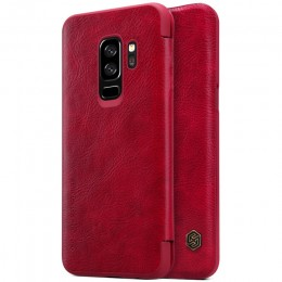 Чехол Nillkin Qin Leather Case для Samsung Galaxy S9 Plus G965 Red (красный)