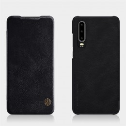 Чехол Nillkin Qin Leather Case для Huawei P30 Black (черный)