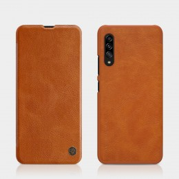 Чехол Nillkin Qin Leather Case для Samsung Galaxy A90 5G SM-A908 Brown (коричневый)
