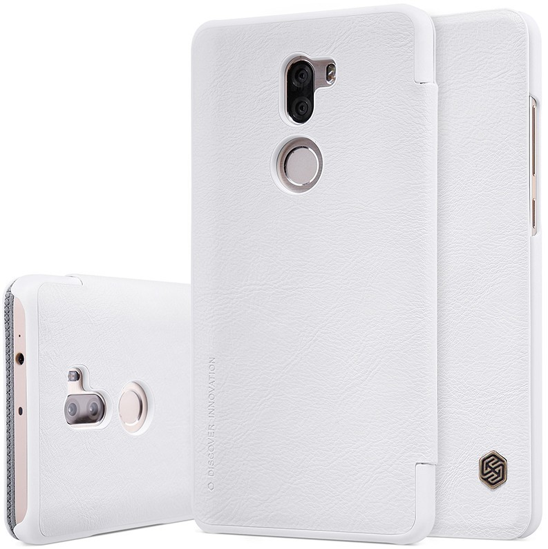 "Чехол Nillkin Qin Leather Case для Xiaomi Mi5S Plus (5.7"") White (белый)"