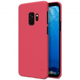 Накладка Nillkin Frosted Shield пластиковая для Samsung Galaxy S9 SM-G960 Red (красная)