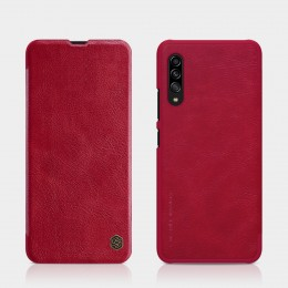 Чехол Nillkin Qin Leather Case для Samsung Galaxy A90 5G SM-A908 Red (красный)