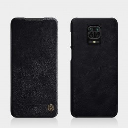 Чехол Nillkin Qin Leather Case для Xiaomi Redmi Note 9S / 9 Pro / 9 Pro Max Black (черный)