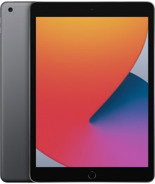 Планшет Apple iPad (2020) 32Gb Wi-Fi Space gray (MYL92RU/A)