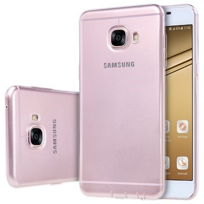 Накладка силиконовая для Samsung Galaxy C7 (C7000) прозрачная