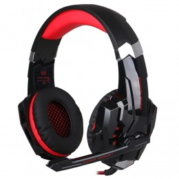 Наушники Kotion Each G9000 Pro Gaming Headset красные