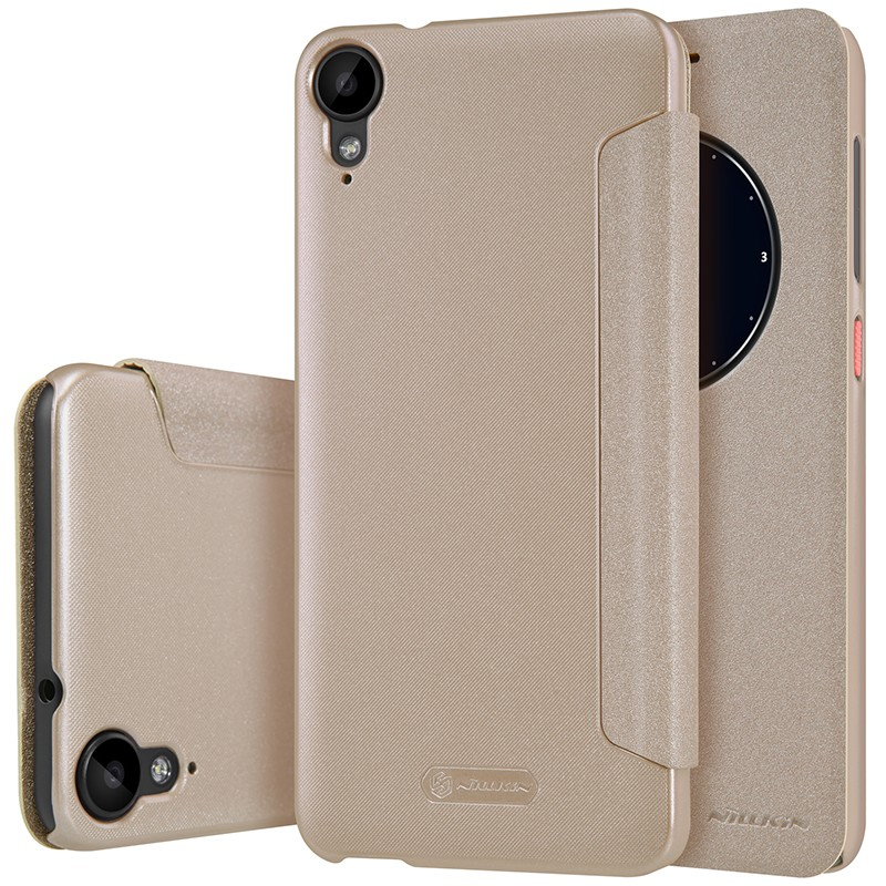 Чехол Nillkin Sparkle Series для HTC Desire 825 Gold (золотой)