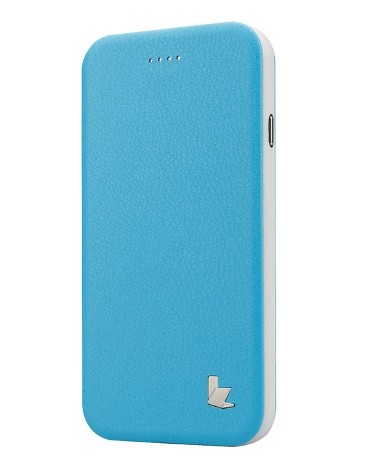 Чехол- книжка Jisoncase Fashion Folio Standing Case для iPhone 6 Blue