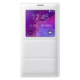 Чехол Flip Cover S-View для Samsung Galaxy Note 4 N910 белый