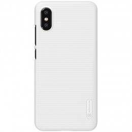 Накладка Nillkin Frosted Shield пластиковая для Xiaomi Mi8 Pro / Mi8 Explorer White (белая)