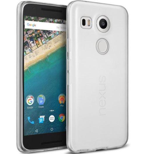 Накладка силиконовая для LG Nexus 5X прозрачная