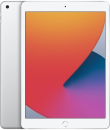 Планшет Apple iPad (2020) 32Gb Wi-Fi Silver (MYLA2RU/A)