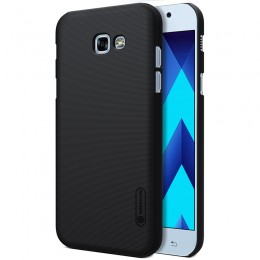 Накладка Nillkin Frosted Shield пластиковая для Samsung Galaxy A3 (2017) A320 Black (черная)