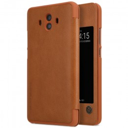 Чехол Nillkin Qin Leather Case для Huawei Mate 10 Brown (коричневый)