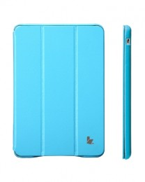 Чехол Jisoncase Executive для iPad mini2 Retina голубой