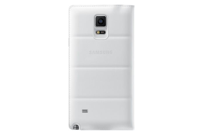 Чехол Flip Wallet для Samsung Galaxy Note 4 N910 белый
