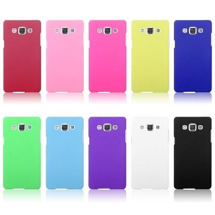 Накладка силиконовая для Samsung Galaxy A5 A500 желтая