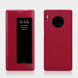 Чехол Nillkin Qin Leather Case для Huawei Mate 30 Pro Red (красный)