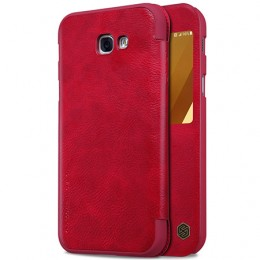 Чехол Nillkin Qin Leather Case для Samsung Galaxy A3 (2017) A320 Red (красный)