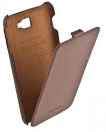 Чехол HOCO Leather Case для Samsung Galaxy Note N7000 Brown