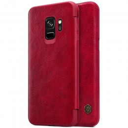 Чехол Nillkin Qin Leather Case для Samsung Galaxy S9 SM-G960 Red (красный)