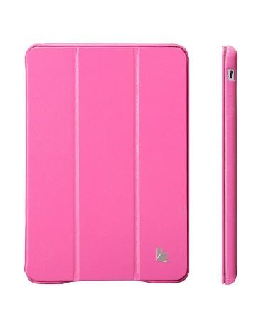 Чехол Jisoncase Executive для iPad mini2 Retina ярко-розовый