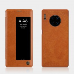 Чехол Nillkin Qin Leather Case для Huawei Mate 30 Pro Brown (коричневый)