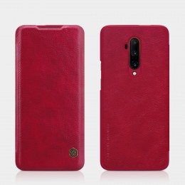 Чехол Nillkin Qin Leather Case для OnePlus 7T Pro Red (красный)