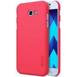 Накладка Nillkin Frosted Shield пластиковая для Samsung Galaxy A3 (2017) A320 Red (красная)