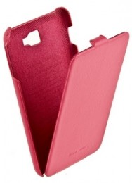 Чехол HOCO Leather Case для Samsung Galaxy Note N7000 Pink